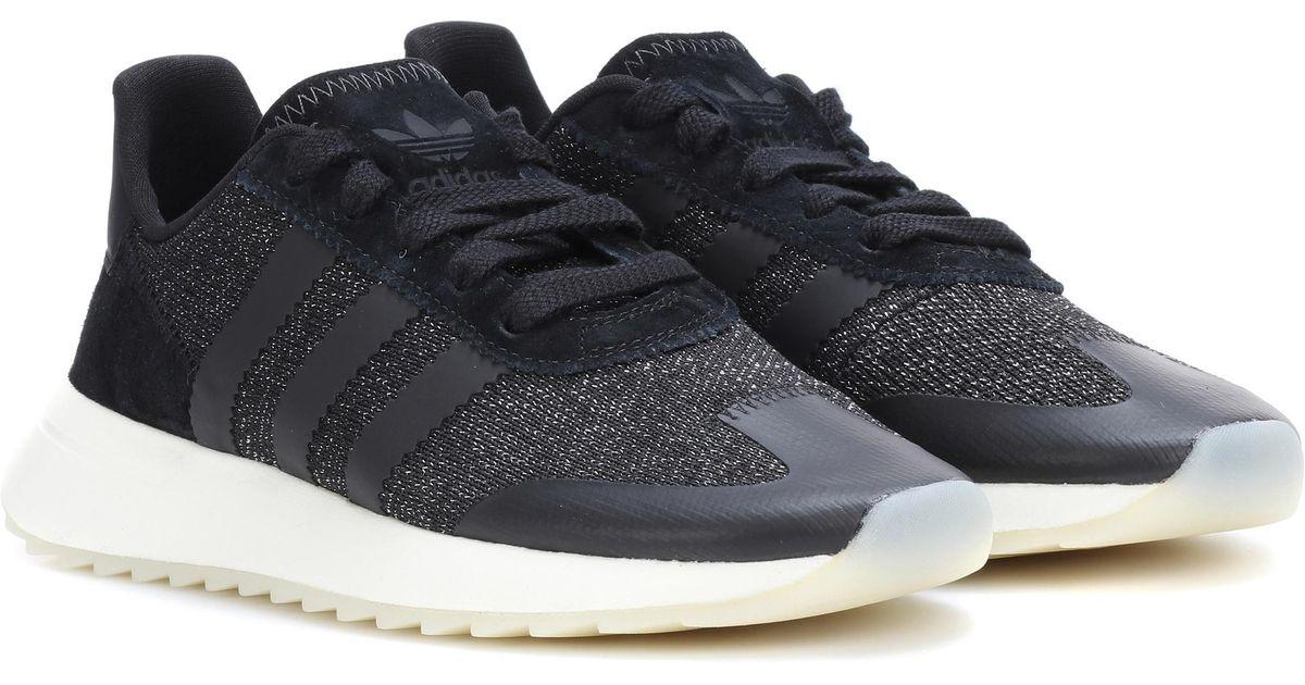 hot sale online 5c756 badcf Lyst - adidas Originals Flashback W Sneakers in Black