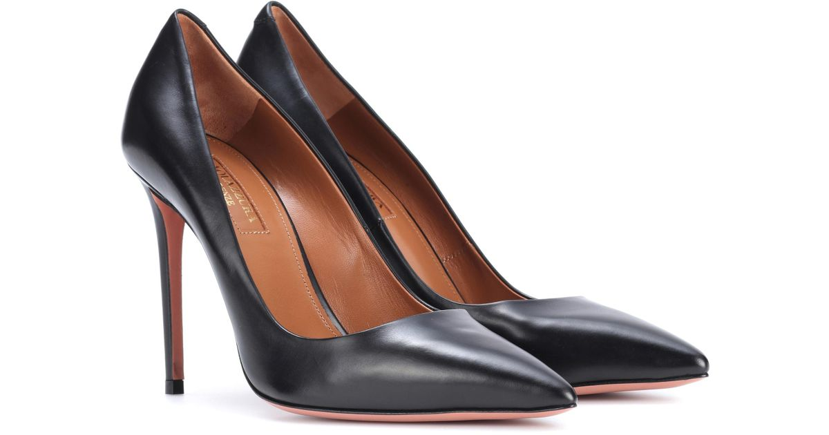 Aquazzura Simply Irresistible 85 suede pumps clearance best place outlet cost sale really xg4lcTCtZ