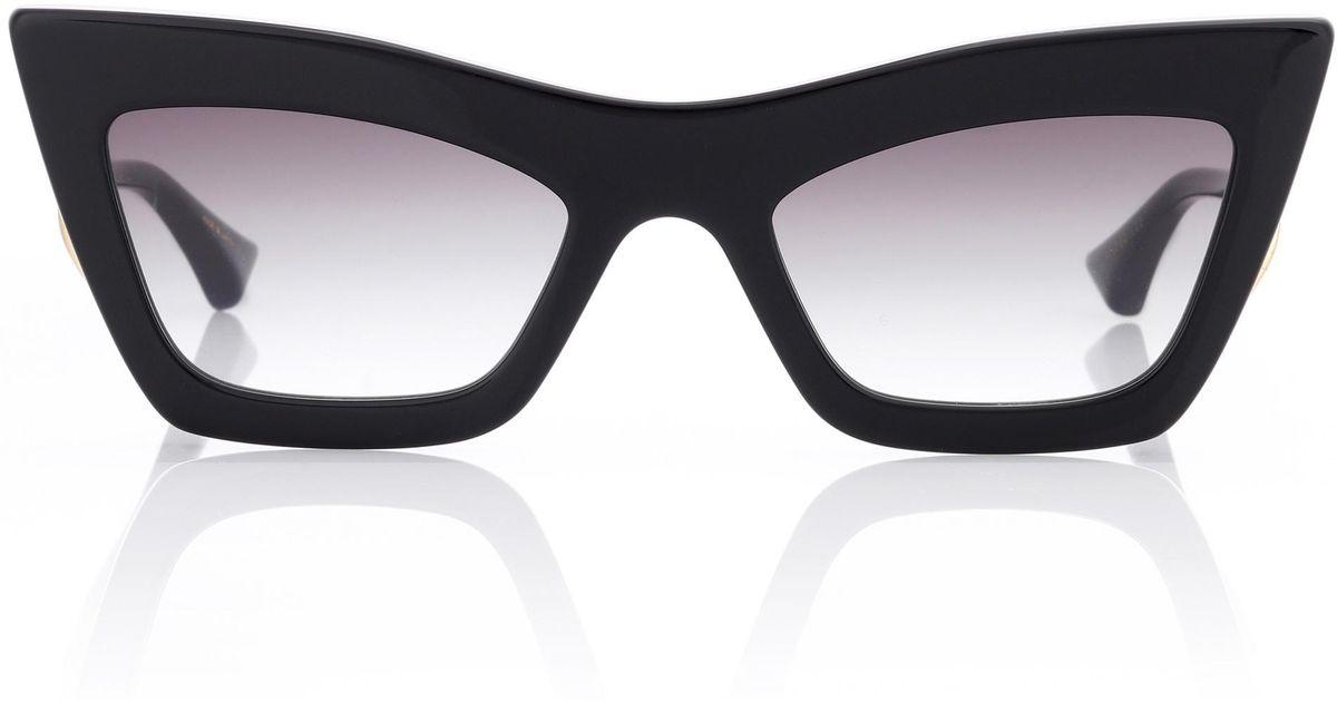 bde647a623c2 Lyst - Dita Eyewear Erasur Cat-eye Sunglasses in Black