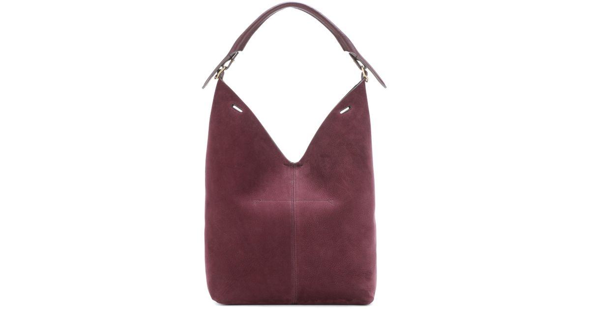 The Bucket suede shoulder bag Anya Hindmarch 0YvK6v9Y5