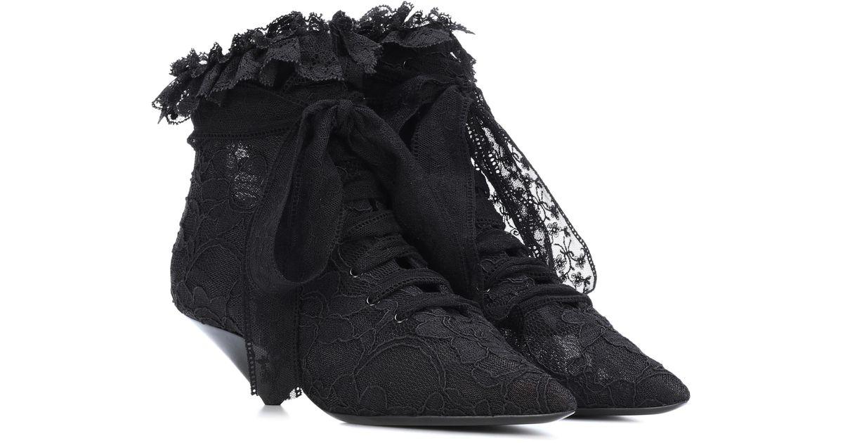 Saint LaurentBlaze 45 ankle boots La Sortie Dernière AffpwRuAJK
