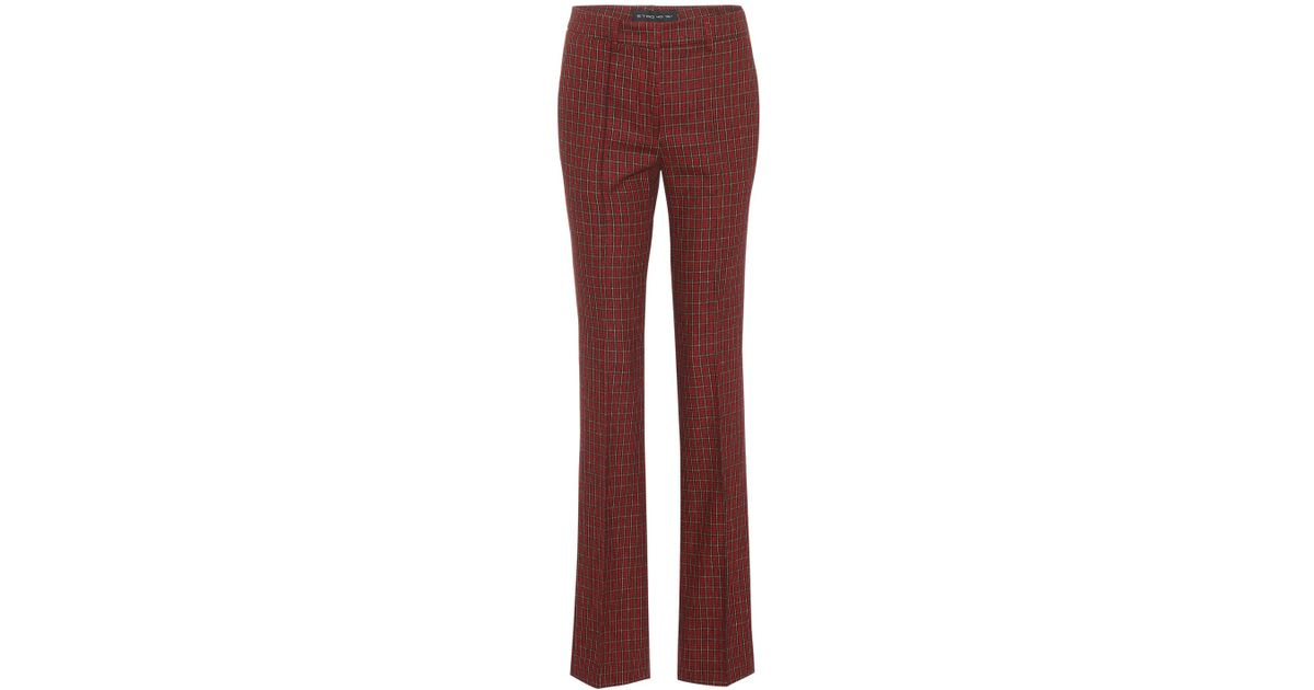 Wool and cotton-blend trousers Etro LVBwFdx