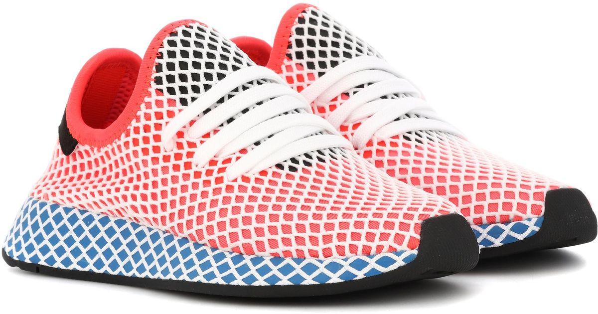 adidas originali rosa deerupt runner scarpe lyst