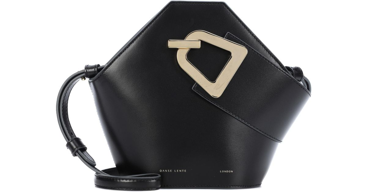 4c65696d3bf3 Danse Lente Mini Johnny Leather Bucket Bag in Black - Save 15% - Lyst