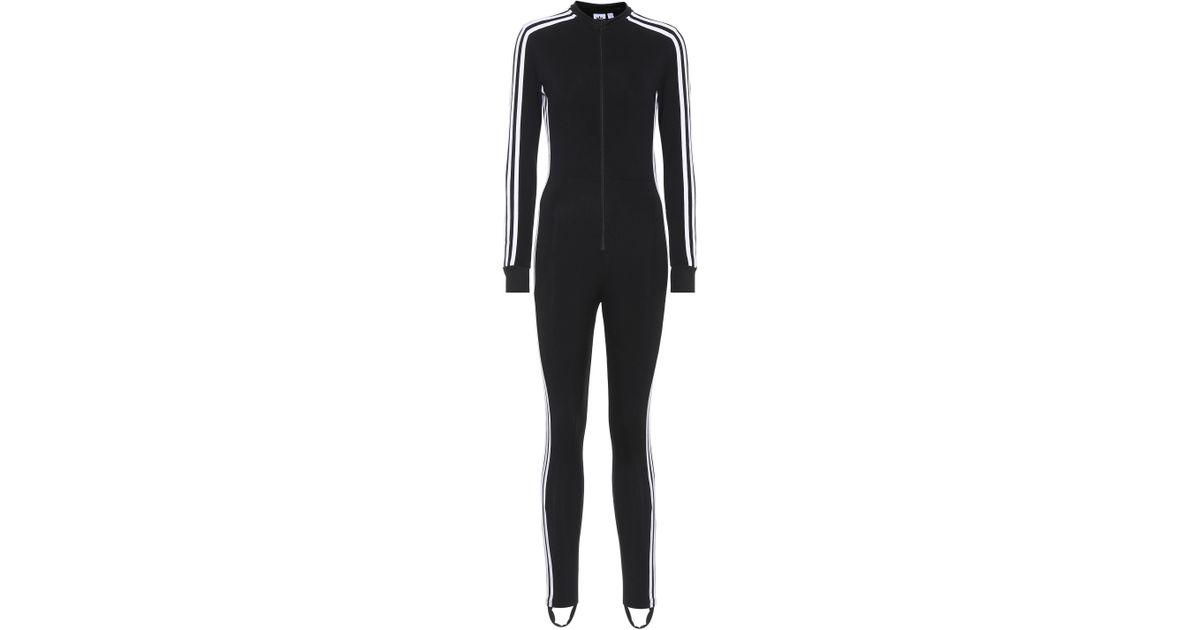 6e61eebaaeeb Jumpsuit In Black Stage Lyst Striped Adidas Originals Bq4wtga