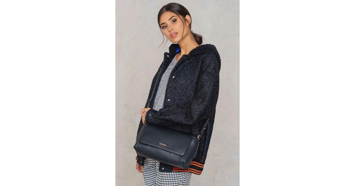6f78f40608 CALVIN KLEIN 205W39NYC Chrissy Crossbody Bag in Black - Lyst