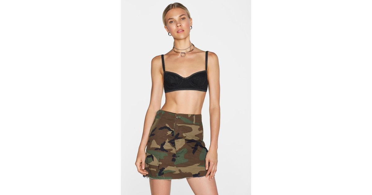 4935cf0f0fede Lyst - Nasty Gal After Party Vintage In The Trenches Camo Skirt After Party  Vintage In The Trenches Camo Skirt