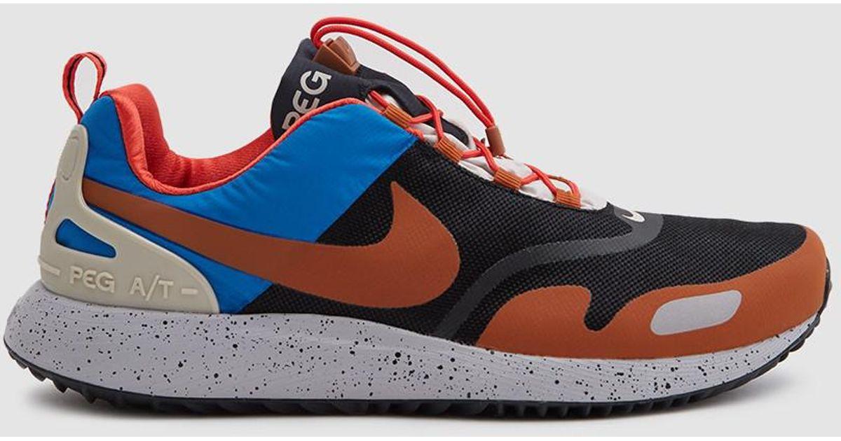 338168f439279 Lyst - Nike Air Pegasus A t Winter Qs Sneaker In Black dark Russet for Men