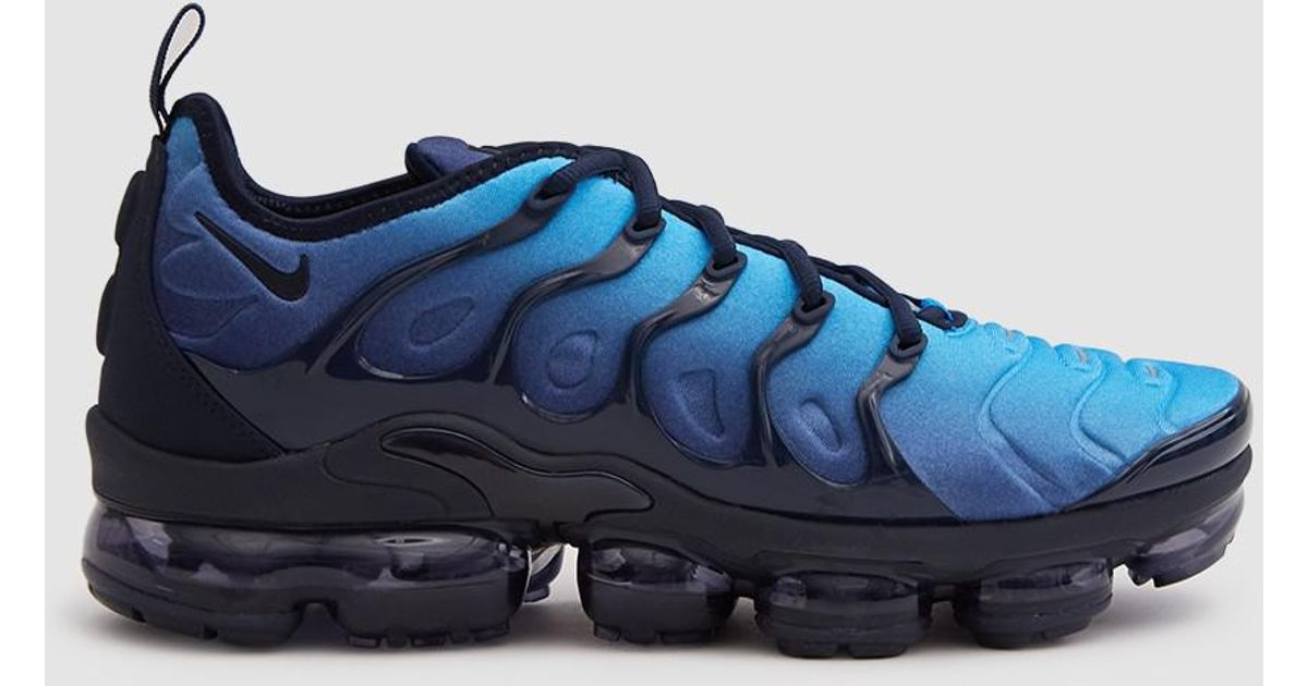 a077a760a58f4 Lyst - Nike Air Vapormax Plus Shoe in Blue for Men