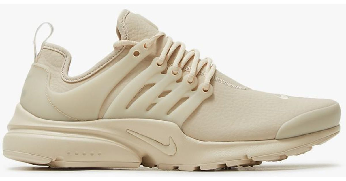 bdcce4027fa1 ... discount code for lyst nike air presto prm in oatmeal in natural b5c4d  4189a