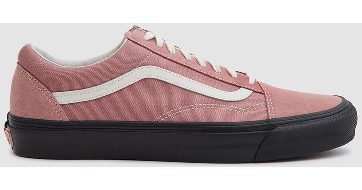 fcaac8c4ee68 Vans Og Old Skool Lx Sneaker In Ash Rose black in Pink - Lyst