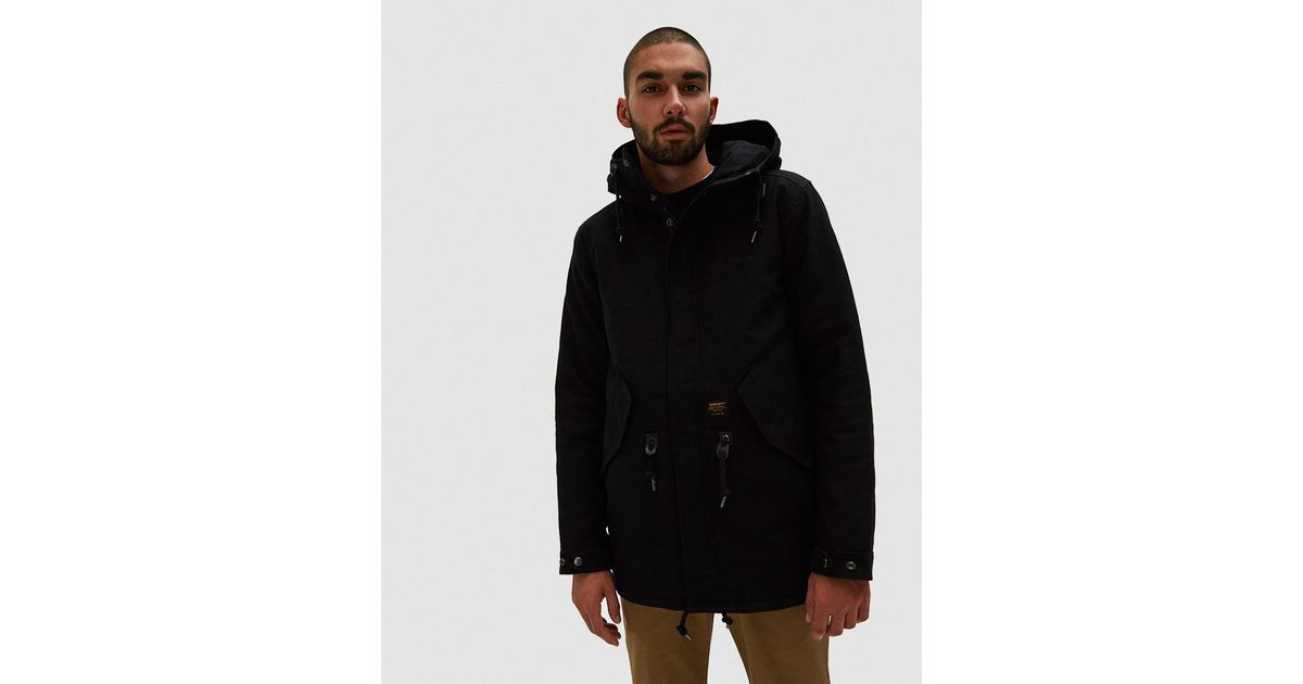 cheap for discount 31aed 9eb52 Carhartt WIP - Clash Parka In Black for Men - Lyst