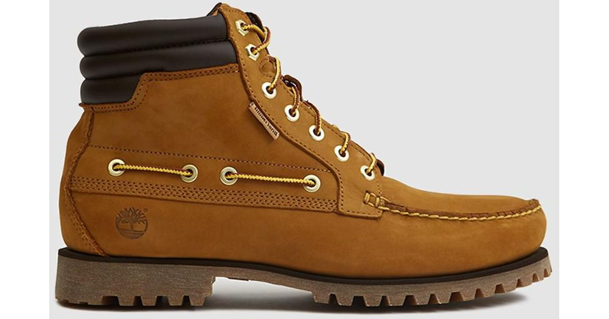 65656d2867d1 Lyst - Timberland Oakwell 7-eye Moc Toe Boot in Brown for Men