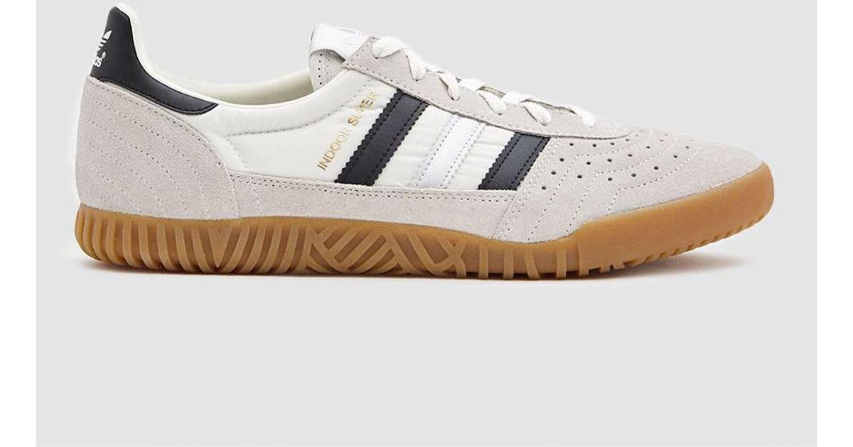 4f677c846067ec adidas Indoor Super Sneaker In Vintage White in White for Men - Lyst