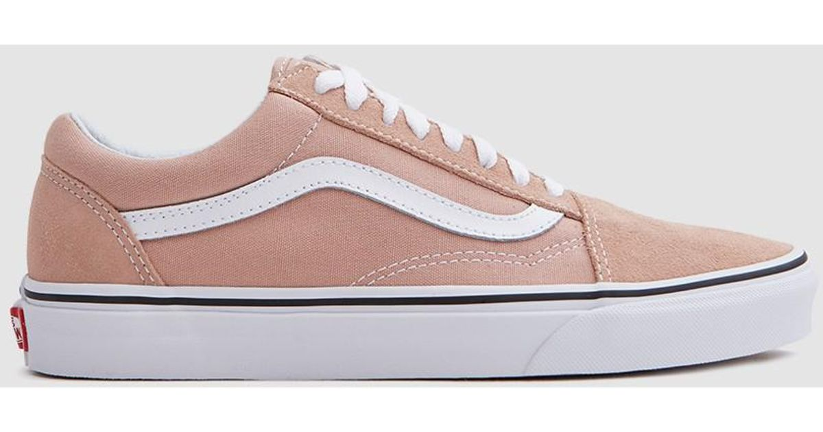 ae00b59109 Lyst - Vans Old Skool In Mahogany Rose true White in Pink