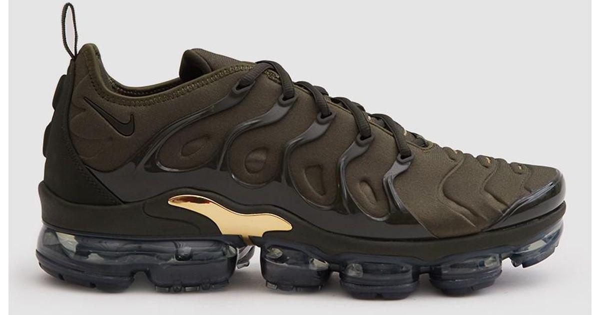6abff01b514d4 ... black 68b32 df4f5  best lyst nike air vapormax plus shoe in cargo khaki  sequoia clay for men 02182 dcc69