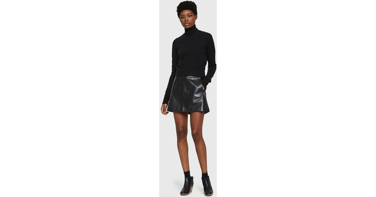 4ee72acc Ganni Passion Skirt in Black - Lyst