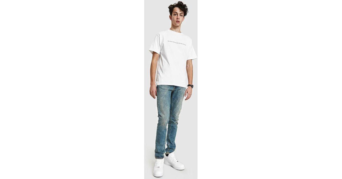 7dde293e Nudie Jeans Lean Dean Shimmering Comfort Denim in Blue for Men - Lyst