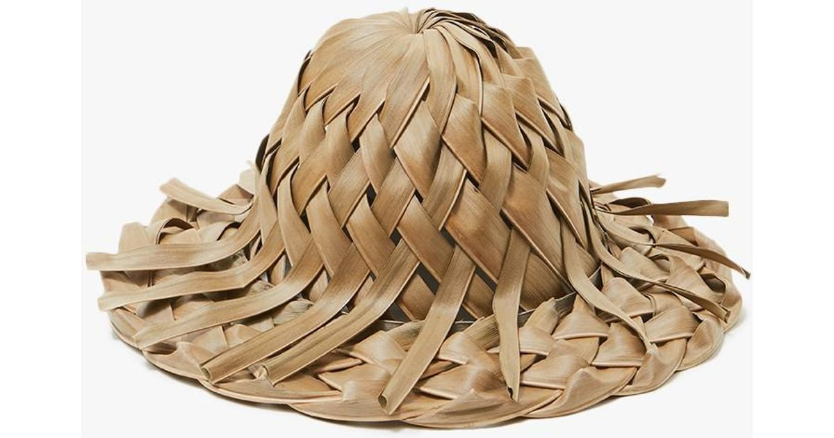 Lyst - Lack of Color Thousand Palms Woven Hat in Natural a47c335a85c