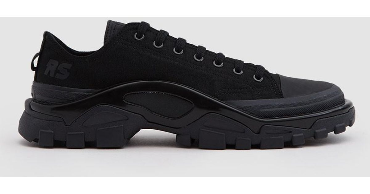 db7ee4bc59c8 Lyst - adidas By Raf Simons Rs Detroit Runner Sneaker In Core Black core  Black in Black for Men