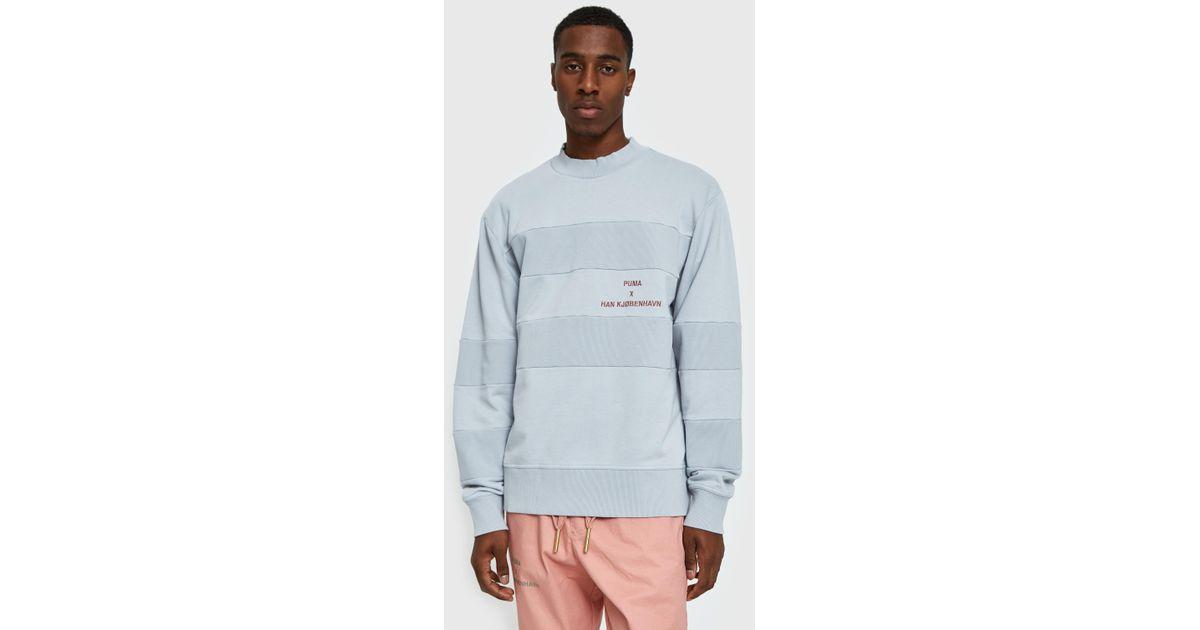 Lyst Han For Sweatshirt In Gray Kjobenhavn Light Men Puma Grey UxwPzfzd