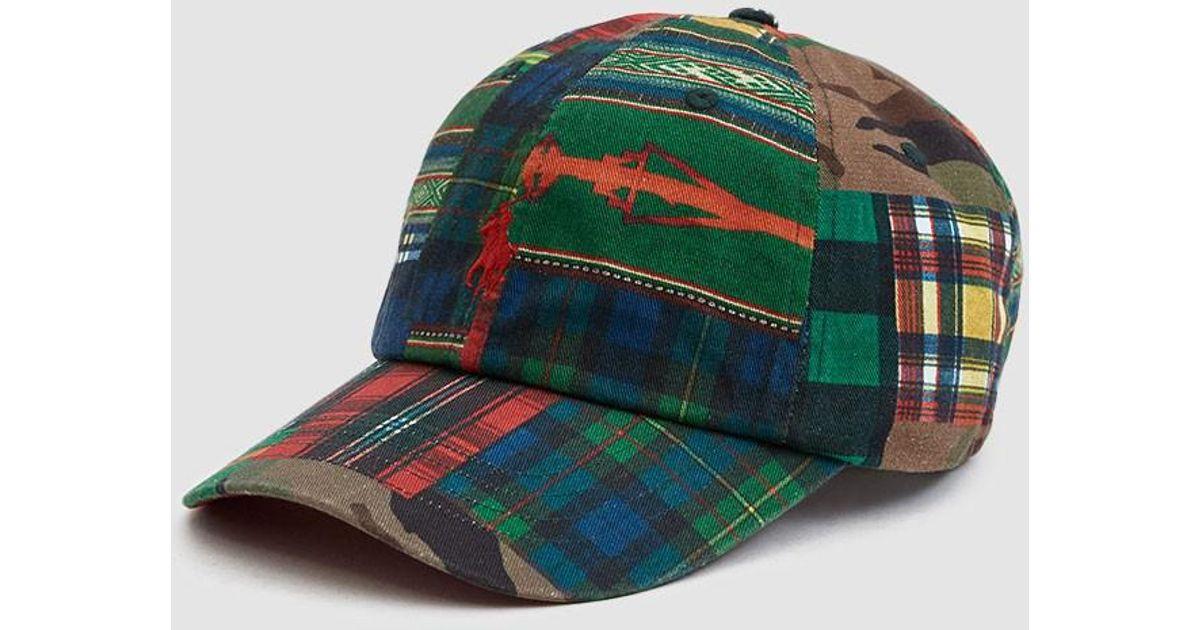 371c7467e Polo Ralph Lauren Classic Sports Cap in Green for Men - Lyst