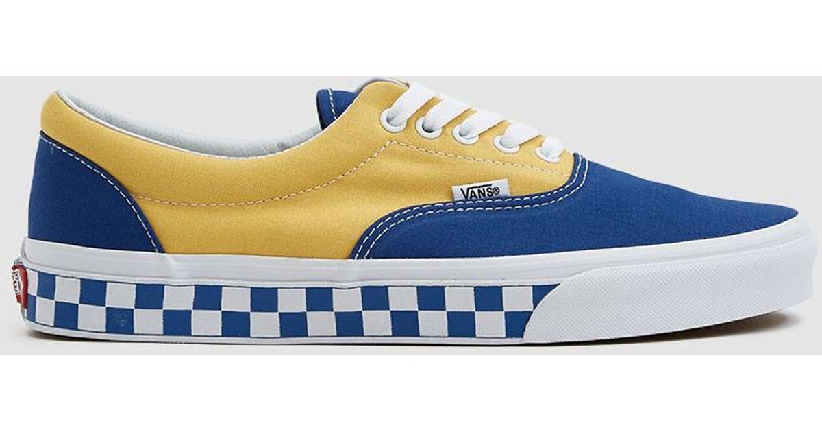 1af8b55d38 Vans Era Sneaker in Blue for Men - Lyst