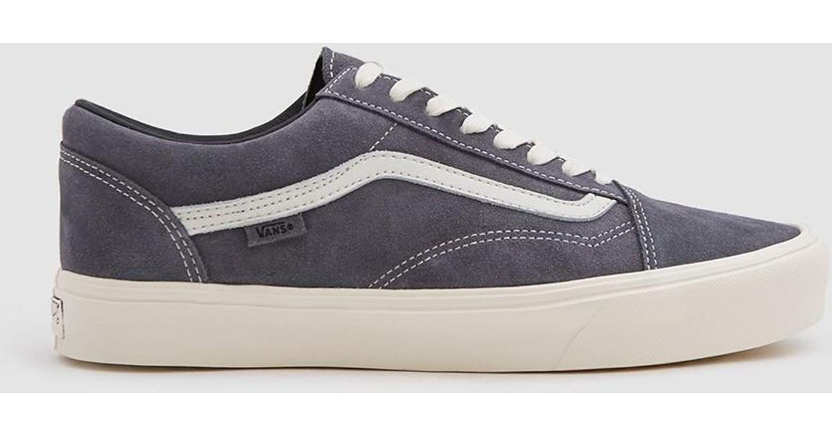 e0bcf3dba5 Lyst - Vans Old Skool Lite Lx Suede Sneaker In Grey Pinstripe in Gray for  Men