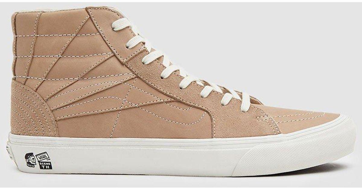 8d2d45c99c65 Vans Th Sk8-hi Sr Lx Vachetta Sneaker for Men - Lyst