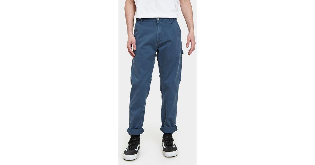 95312983 Carhartt WIP Ruck Single Knee Pant in Blue for Men - Lyst