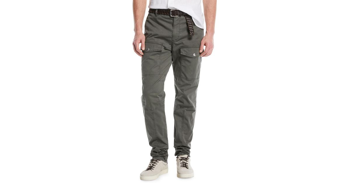 Leisure Fit trousers olive Brunello Cucinelli 4NKiisT