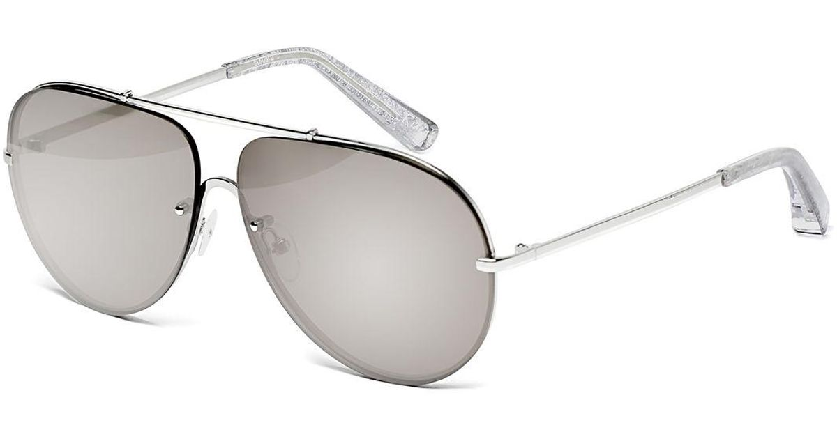 8d44926ac Lyst - Elizabeth And James Ryder Mirrored Aviator Sunglasses in Metallic
