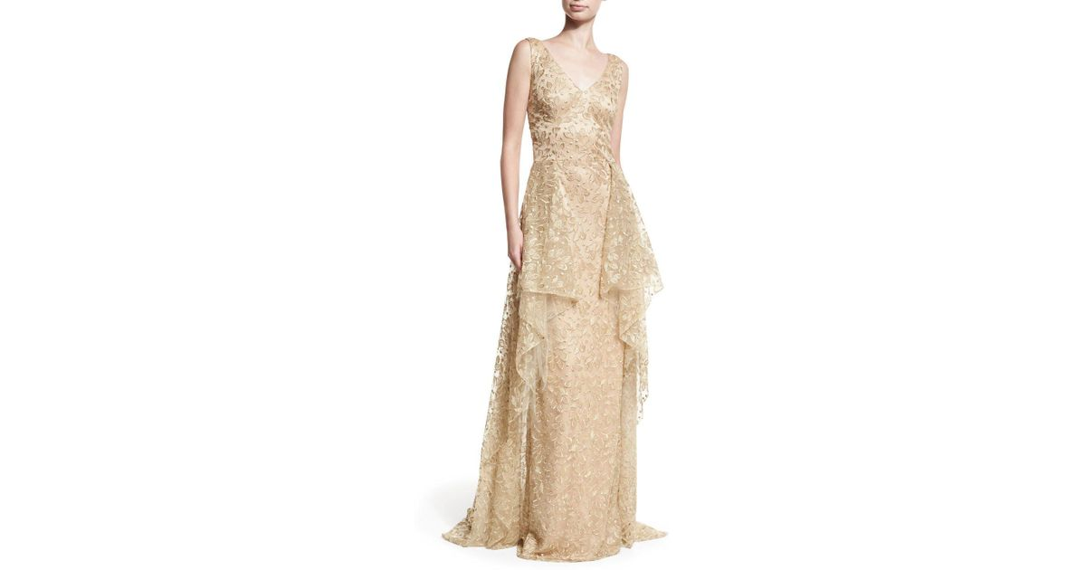 Modern neiman marcus last call evening gowns elaboration best gallery of neiman marcus last call evening gowns lyst david meister v neck sleeveless embroidered tulle evening junglespirit Choice Image