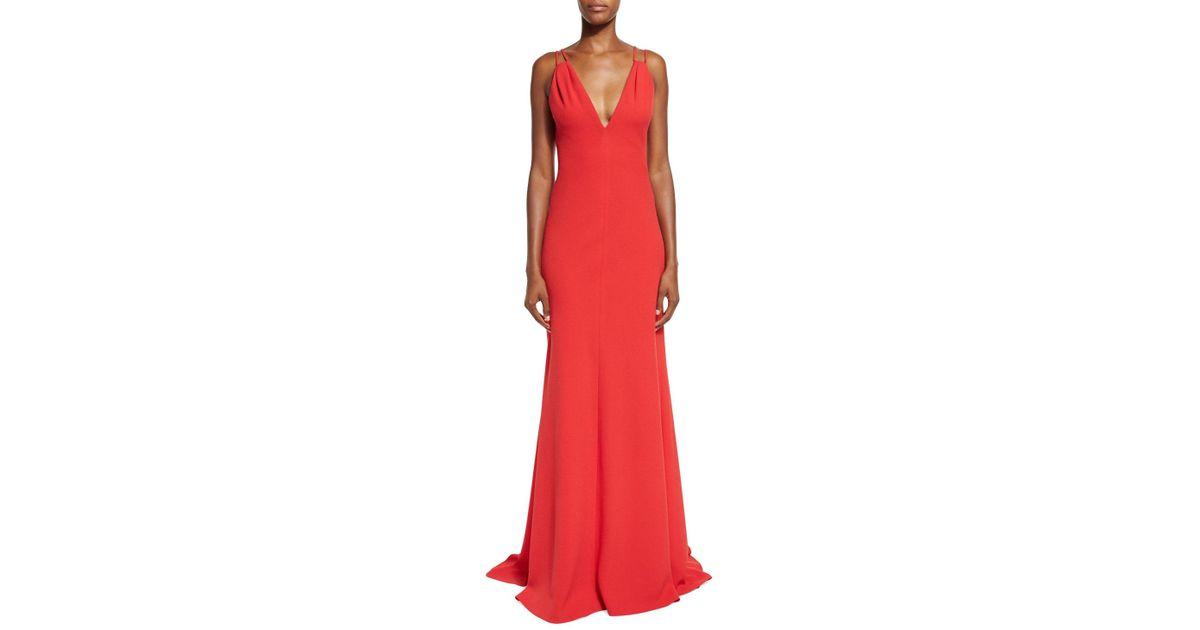 Carmen belted maxi dress