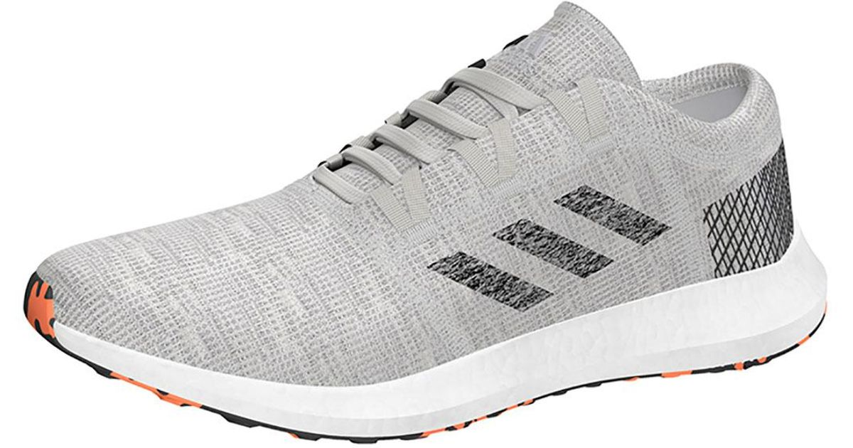 aa749bc37 Lyst - adidas Men s Pureboost Element Knit Trainer Sneaker Gray in Gray for  Men