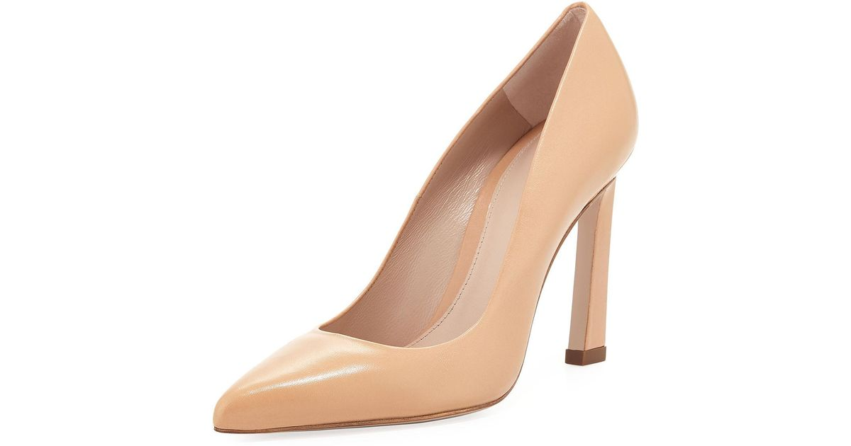 Stuart Weitzman Chicster Napa Pointed Pump xCFZp