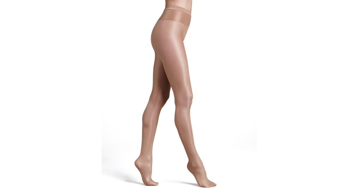 a7f961d65f7 Wolford Neon 40 Glossy Tights - Lyst