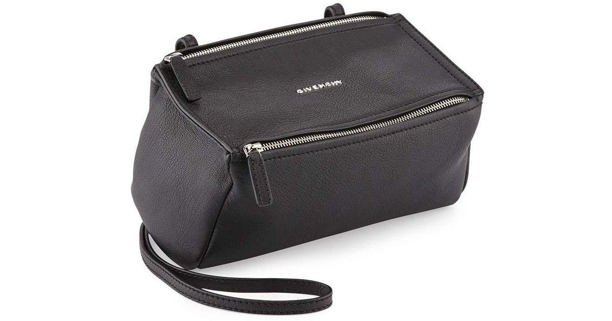 Lyst - Givenchy Pandora Mini Goatskin Crossbody Bag 516745dbfdd54