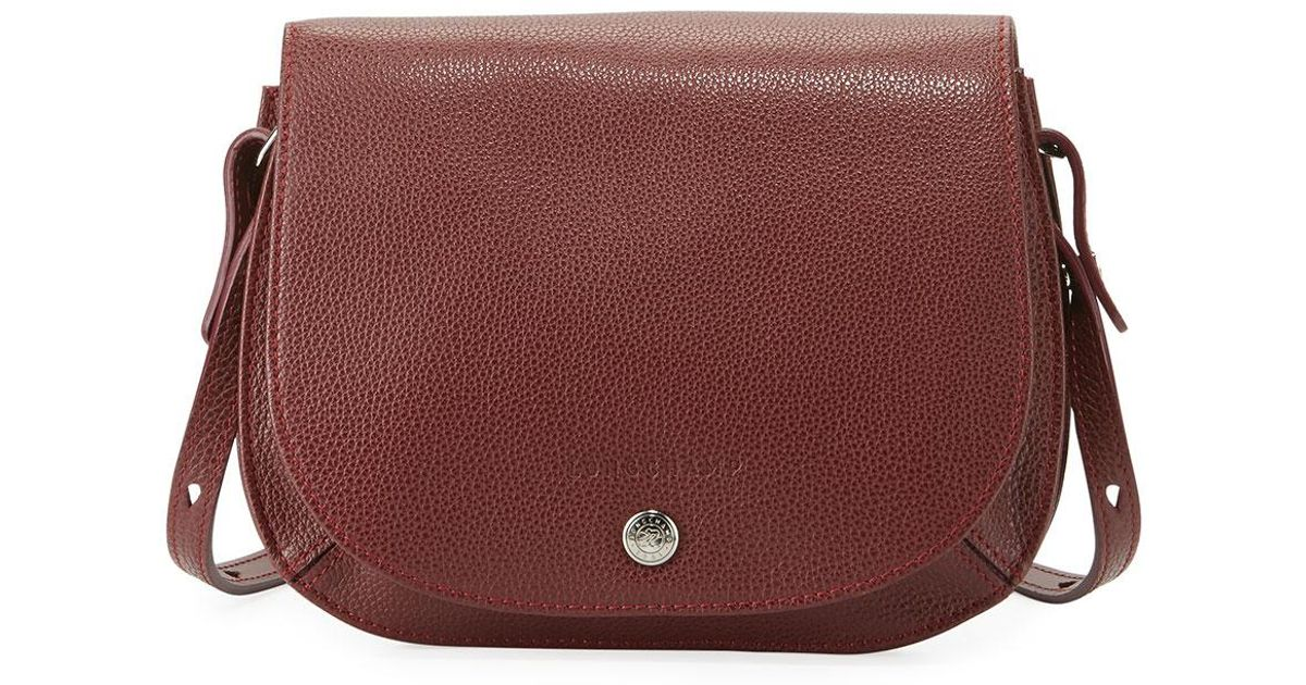 Lyst - Longchamp Le Foulonne Small Cross Body Bag in Red a72537d8d2ee1