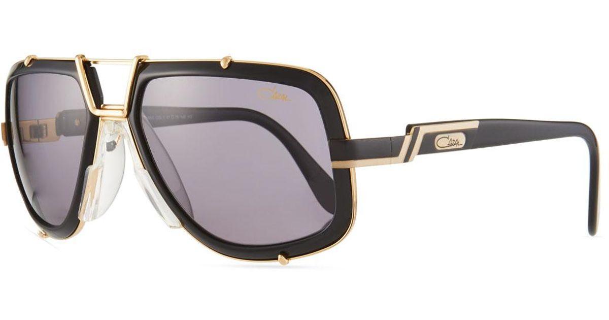 41dabd8521c9 Lyst - Cazal Men s 61mm Square Acetate metal Aviator Sunglasses for Men