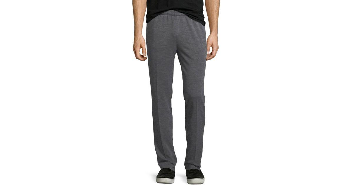 50eac202 Z Zegna - Gray Techmerino Wool Jogger Pants for Men - Lyst
