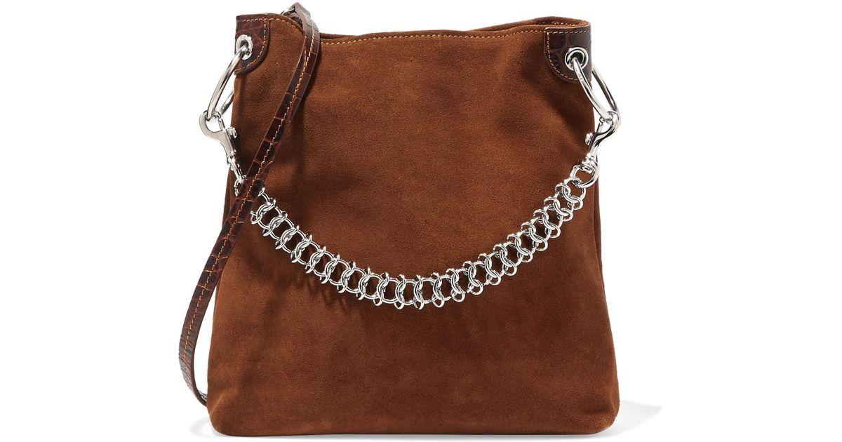 Bag Suede Shoulder In Liffner Lyst Candybag Little Brown xq1pwxa6