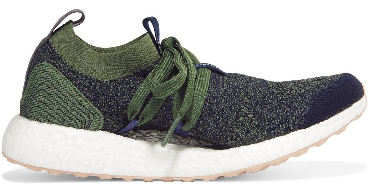 adidas By Stella McCartney + Parley For The Oceans Ultraboost X Primeknit  Sneakers in Blue - Lyst 9bb816472baf1