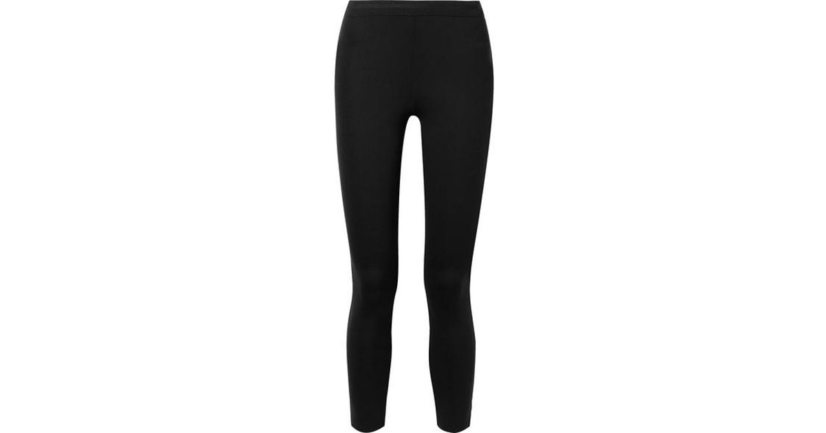 5fe05b65f1be0 James Perse Stretch-scuba Leggings in Black - Lyst