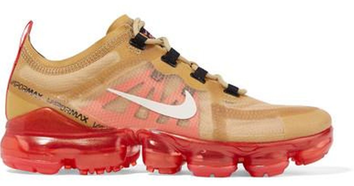 b27db58a Nike Air Vapormax 2019 Ripstop And Mesh Sneakers in Metallic - Lyst