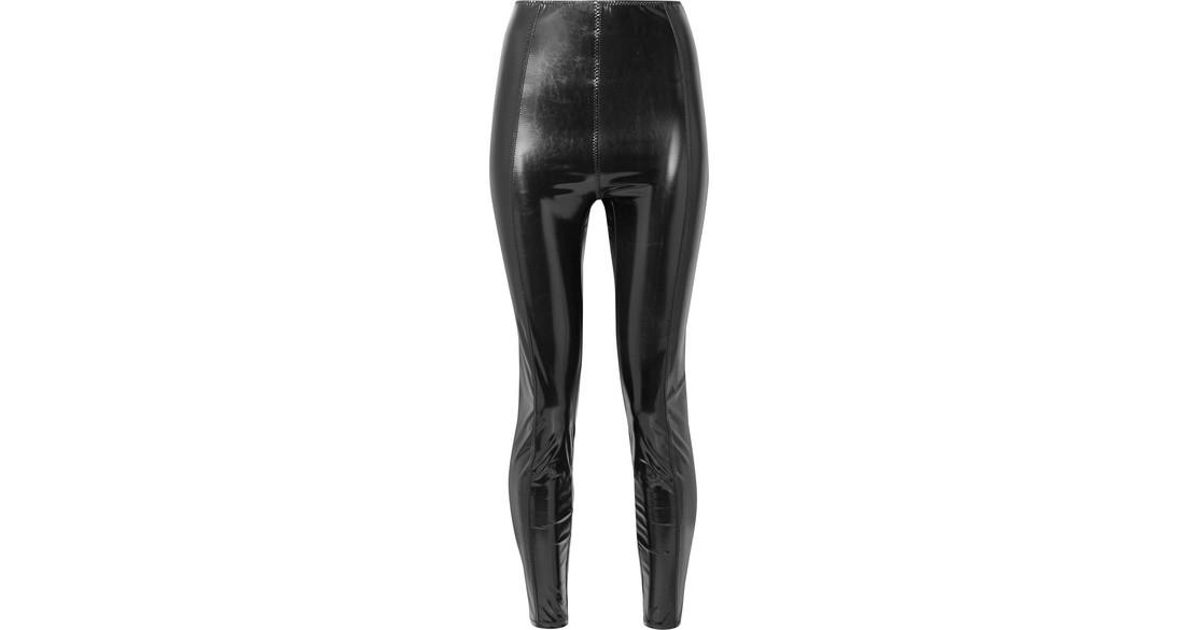 7c839d83856c3 Lisa Marie Fernandez Karlie Stretch-pvc Leggings in Black - Save 2% - Lyst