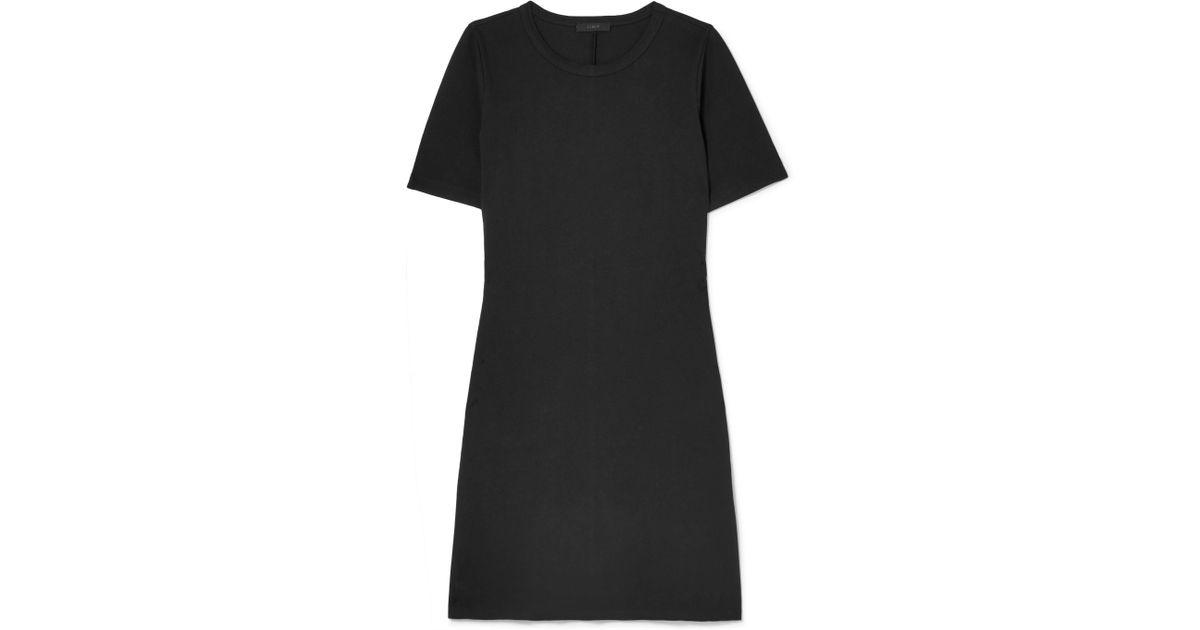 Sunset Stretch-jersey Mini Dress - Black J.crew A4FLTDfl