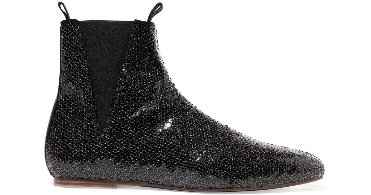 Loewe Sequin boots YuuoLitD2