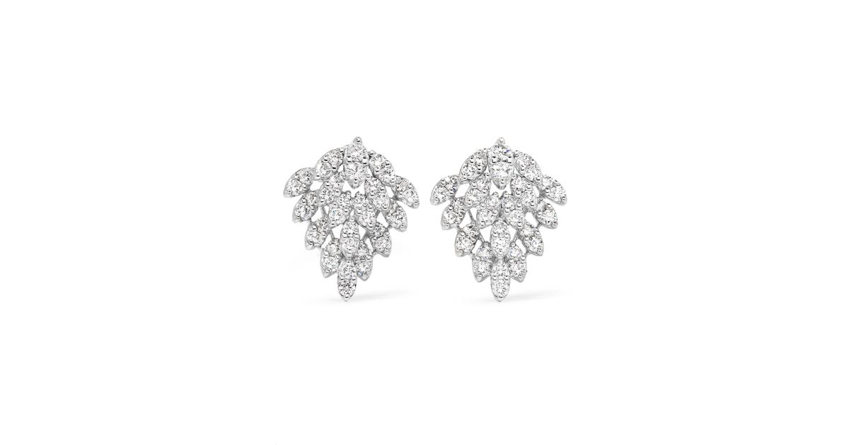 Anita Ko 18-karat White Gold Diamond Earrings 5nz5Uu
