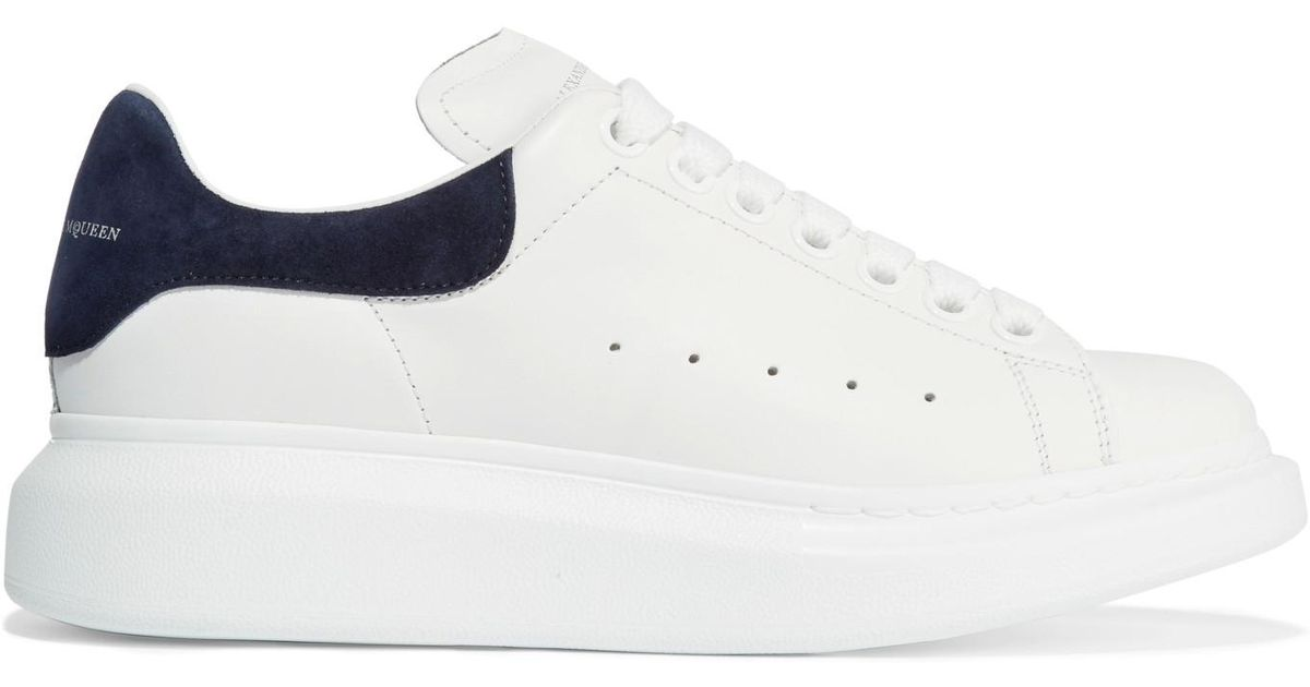on sale 62a5d bd9dc alexander-mcqueen-white-Suede-trimmed-Leather-Exaggerated-sole-Sneakers.jpeg
